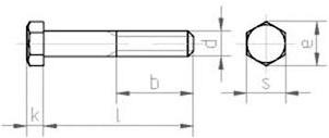 Болт ГОСТ 7805 класса точности А