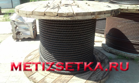 Канат ГОСТ 2688-80 стальной грузовой